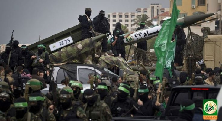 Roket meluncur dari wilayah Gaza diarahkan kepemukiman Zionis memicu alarm peringatan serangan roket