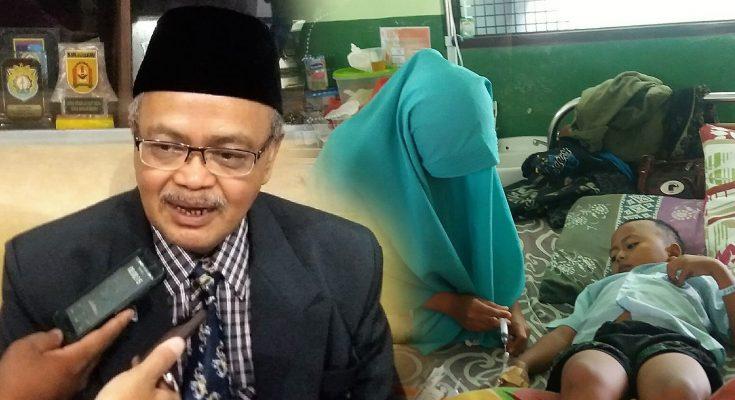 Kepala Dinkes Pemkab Situbondo Abu Bakar Abdi. (foto:fat)