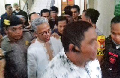 Buni Yani saat dibawa kelapas Gunung SIndur, Bogor. (foto:ltf)