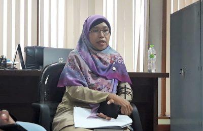 Kepala Bidang Pengendalian dan Pencegahan (Kabid P2P) Dinkes Kota Depok, Umi Zakiyati. (foto:ltf/jan)