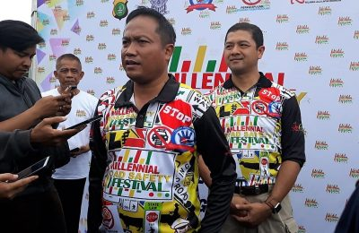 Kapolresta Depok Kombes Pol Didik Sugiarto. (foto:fat)