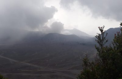 Status Gunung Bromo di Kabupaten Probolinggo Jawa Timur, Waspada.(foto: dic)