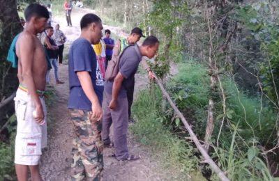 Lokasi korban terjatuh saat mengikuti event Marinir Trail Adventure (Matra) ke-II  2019 di Situbondo, Jawa Timur.