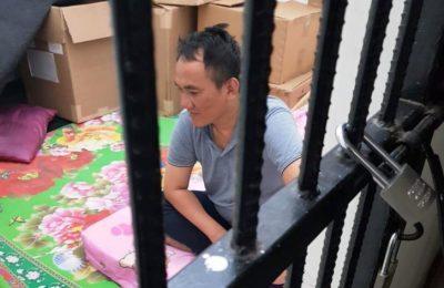 Wasekjen Partai Demokrat Andi Arief ditangkap polisi karena diduga mengonsumi narkoba di kamar hotel di kawasan Slipi, Jakarta Barat, Minggu (3/3/2019). (Ist)