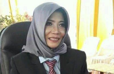 Dirut PDAM Gresik Siti Aminatus Zariyah. (Foto/didik hendri)