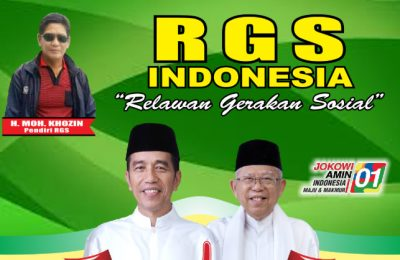 Pendiri RGS Indonesia H Moh Khozin Ma'sum Abdul Karim. (Foto/didik hendri)