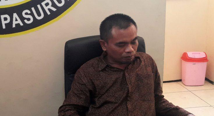Ketua Bawaslu Kabupaten Pasuruan, M Nasrup. (Foto : abd)