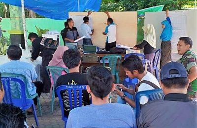 Panitia Pemilihan Kecamatan (PPK) di Kabupaten Situbondo, mulai melakukan rekapitulasi penghitungan suara, hasil Pemilu Legislatife (Pileg) dan Pemilihan Presiden (Pilpres) Tahun 2019. (foto:fat)