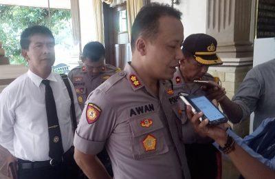 Kapolres AKBP Awan Hariono . (foto:fat)