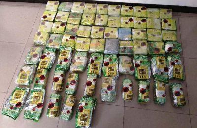 Barang bukti narkoba berupa sabu yang berhasil diamankan petugas BNN. (Ist)