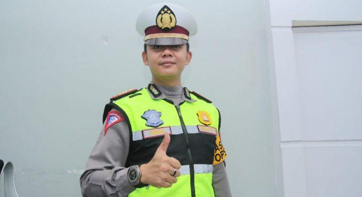 Kasat Lantas Polres Banjar, AKP Indra Agung Perdana Putra SIK.