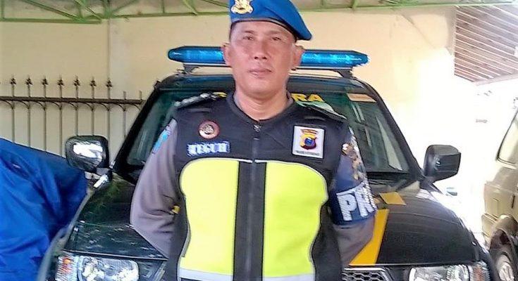 Kanit Laka Polres Situbondo Iptu Teguh Santoso . (foto:fat)