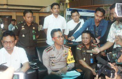Kapolresta Pontianak, Kombes Pol Muhammad Nasir memberikan keterangan kepada wartawan terkait kasus kekerasan anak yang menimpa Audrey. (Foto/das)