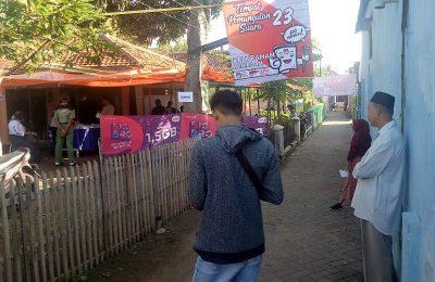 TPS  Molor 2 Jam, Di Tps 14 di Gelung, Kecamatan Panarukan, dan TPS 23 Kelurahan Mimbaan, Kecamatan Panji, Situbondo