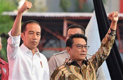 Kepala Staf Presiden Jenderal (purn) Moeldoko sudah berbicara kepada Kapolri Jenderal Pol. Tito Karnavian untuk tidak memberi maaf kepada penghina dan pengancam presiden.