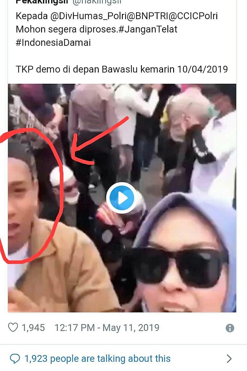 Polisi harus berani menangkap pemuda pengancam Presiden Jokowi