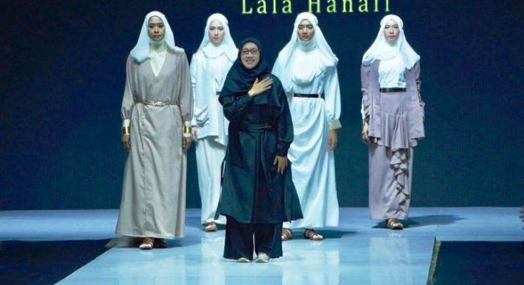 Busana muslim karya Lala Hanafi tampil di MUFFEST 2019. (Ist)