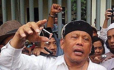 Eggi Sudjana mangkir dari panggilan polisi