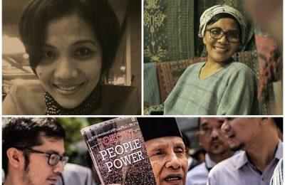 Tatty Aprilyana, istri almarhum Bimo Nugroho, penulis buku 'Jokowi People Power menulis surat terbuka untuk Amien Rais