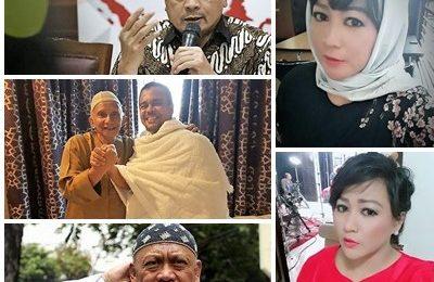 Dewi Tanjung dengan keberanian di atas rata-rata, melaporkan Habib Riziek Shihab, Amien Rais, Ustadz Bachtiar Nasir dan yang baru masuk tahanan  Eggi Sudjana