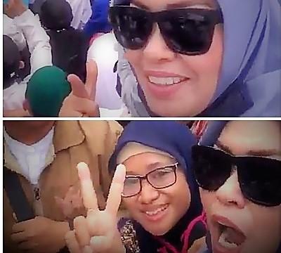 Dua wanita yang ada di dalam video viral ancaman pembunuhan terhadap Presiden Jokowi agar serahkan diri ke Polisi