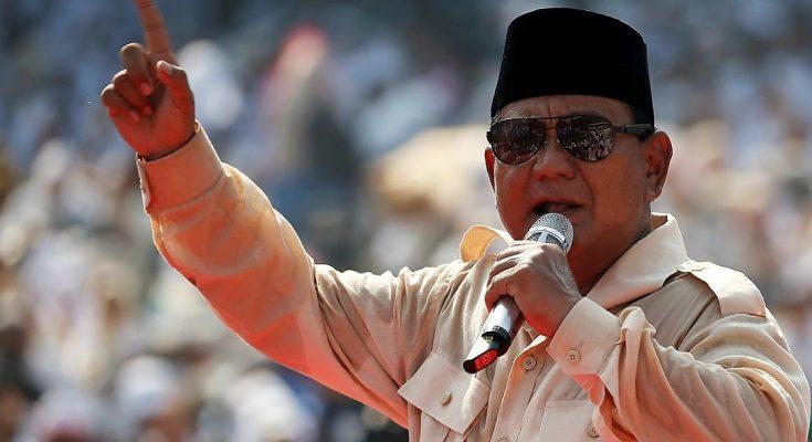 Prabowo Subianto. (foto:reuter)