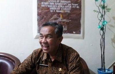 Kasie Haji dan Umrah Kemenag Situbondo Adi Ariyanto. (foto:fat)