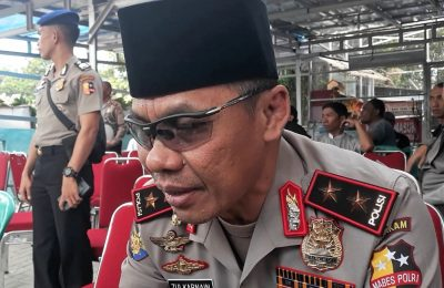 Kepala Korps Polairud Baharkam Polri, Irjen Zulkarnain Adinegara. (foto:ltf)