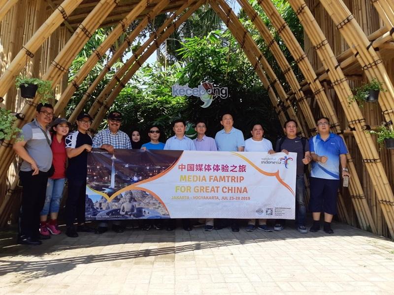 Rombongan Wartawan China Kunjungi Objek Wisata Yogyakarta-3