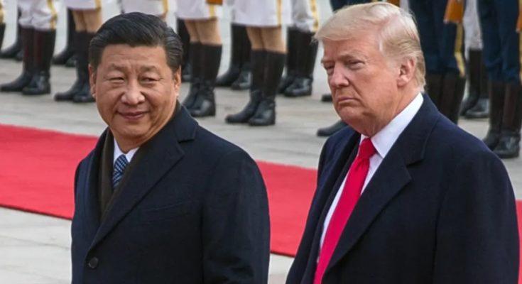 Preside Cina Xi Jinping dan Presiden Amerika Dobald Trump (foto. Istimewa)