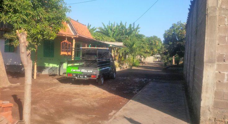 Kondisi Rumah Warga Desa/Kecamatan Mangaran, Situbondo, paska terjadinya gempa di Nusa Dua Bali. (foto:fat)
