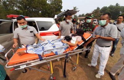 Gabungan Pengusaha Kelapa Sawit Indonesia (Gapki) Kalbar mengelar bakti sosial  Sebagai bentuk kepedulian terhadap dampak kebakaran hutan dan lahan (karhutla) di Kalimantan Barat, Sabtu (21/9/2019). (foto:das)