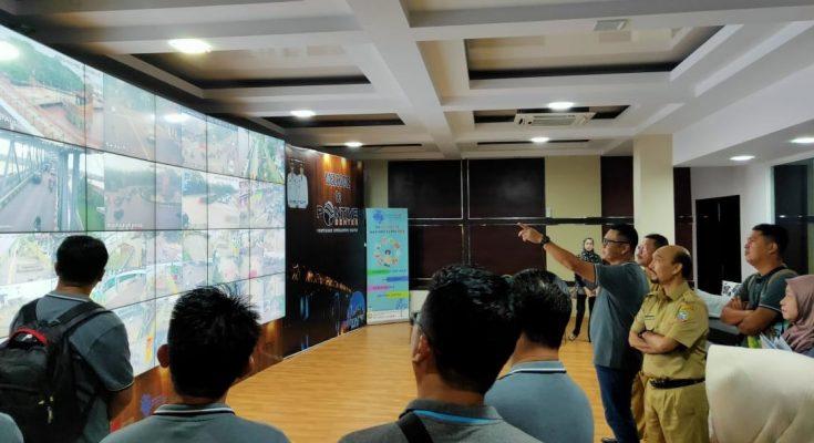 Rombongan Pejabat Daerah Bintulu. Sarawak saat melakukan lawatan ke Pemerintah Kota Pontianak. (foto:das)