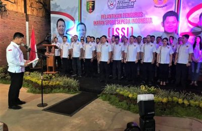 Pelantikan Pengprov ISSI Lampung. (foto:ist)