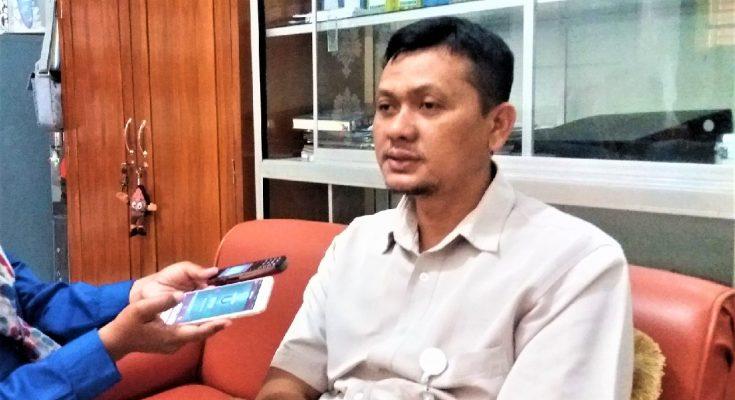 Marwoto, ketua KPU Kabupaten Situbondo. (foto:fat)