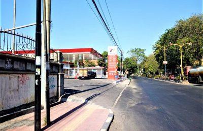SPBU Jalan PB Sudirman, Situbondo, tempat terlapor melakukan penganiayaan. (foto:fat)