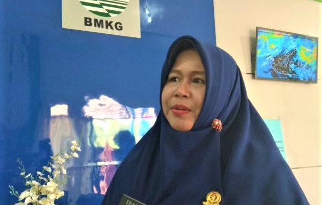 Kepala Stasiun Meteorologi Supadio Pontianak, Erika Mardiyanti. (foto:ist)