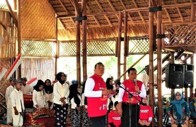 Bupati Dadang Wigiarto, Wabup Yoyok Mulyadi, saat peringatan HAN 2019.. (foto:fat)