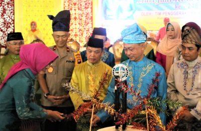 Wakapolda Kalbar Brigjen Pol Imam Sugianto menghadiri acara Lomba Inovasi Saprahan yang diadakan oleh Pemerintah Kota Pontianak. (foto:das)