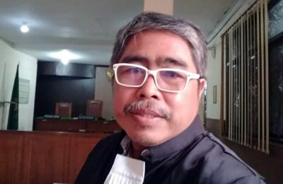Joko S. Dawoed, SH, kuasa hukum Ketua RW 014 Perumahan Bulak Kapal Permai (BKP) Kabupaten Bekasi, Sutaryo Teguh. (Ist)