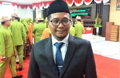 Edy Wahyudi, ketua DPRD Kabupaten Situbondo.
