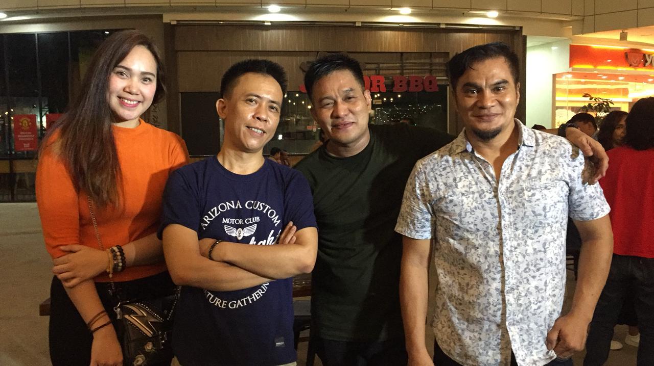Penyelenggara Jazzy Park 2019 Ardi,(dua kiri), Nanda, (kanan), Iwang Noorsaid, (dua kanan) dan Inang Noorsaid. (foto:ist)