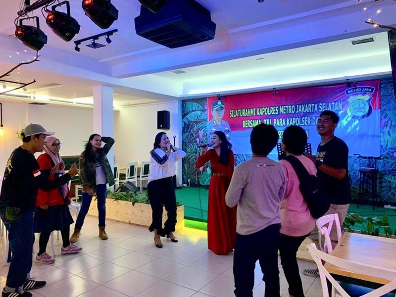 Ramah-tamah Kapolres Jakarta Selatan-2