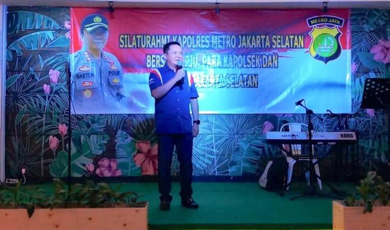 Kapolres Jakarta Selatan Kombes Bastoni Purnama. (Tjg)