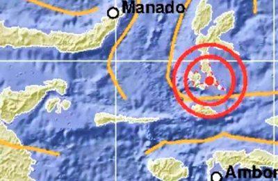 Gempa 7,1 SR guncang maluku utara