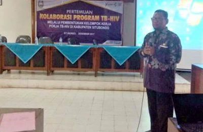 Heryawan programer HIV AIDS Dinkes  Kabupaten Situbondo. (foto:fat)