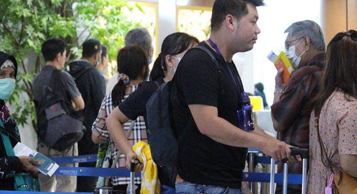 Otoritas bandara internasional Supadio, Kubu raya, perketat pengawasan dan pemantauan di terminal kedatangan penumpang internasiona