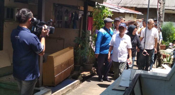 Komnas HAM temui warga Asrama Polisi Menteng. (foto.Ist)