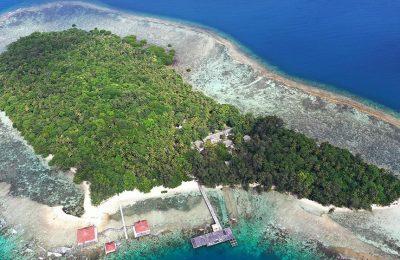 Pulau Sebaru Kecil di Kepulauan Seribu, Jakarta. (foto:istimewa)