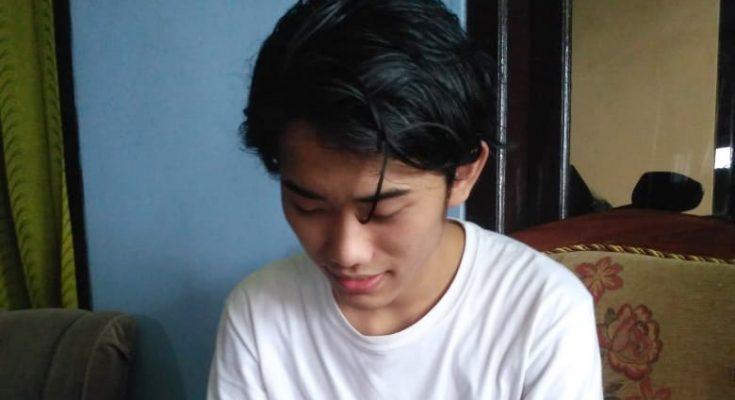 Moh Taufik, mahasiswa asal Situbondo yang belajar di china. (foto:fat)